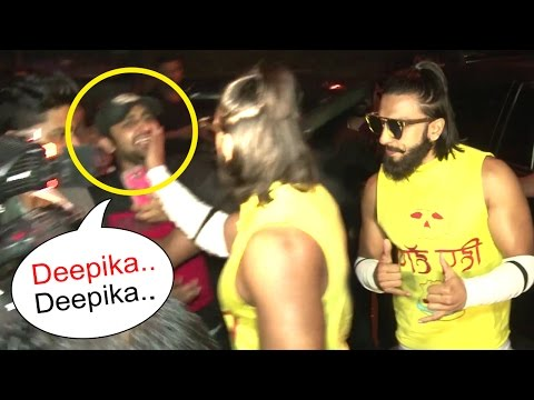 Thumbnail: Ranveer Singh's SHOCKING Reaction To A FAN Teasing 'Deepika Deepika' In Public