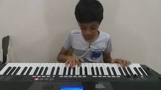 Kondoram - Odiyan song in keyboard