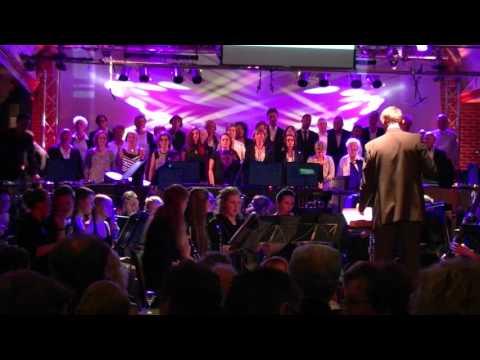 Galaconcert Harmonie Wilhelmina Pannerden met The New Voices 9 april 2016 deel 1