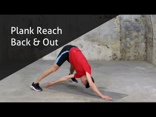 Plank Reach Back and Out - hoe voer ik deze oefening goed uit?
