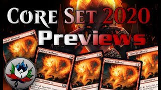 Core Set 2020 Spoilers: Rienne, Angel of Rebirth; Cavalier of Flame; Atemsis, All-Seeing; and more!
