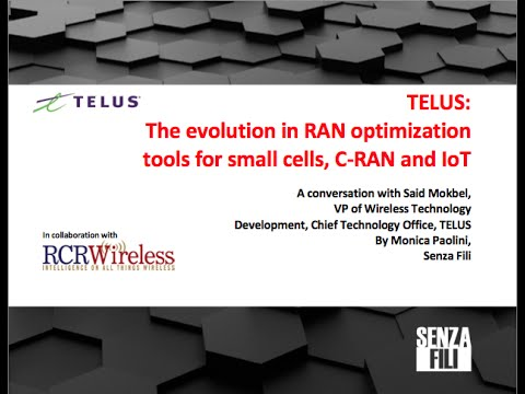 The evolution in RAN optimization tools for small cells, C-RAN and IoT