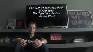 Немецкие слова: прилагательные, сравнительная степень. Немецкий для начинающих, урок 22.