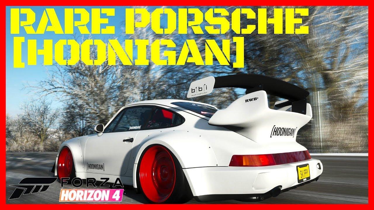 How To Unlock The Porsche 911 Turbo Hoonigan Forza Horizon 4 Gameplay Youtube