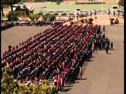 Cerimonia Alamari e Giuramento degli Allievi Marescialli Carabinieri del 1 IST