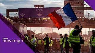 Gilets Jaunes: Who are the French 'yellow vest' protesters? - BBC Newsnight