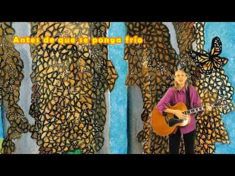 Canción De La Mariposa Monarca: Sue Young sings Spanish version of Lucas Miller's monarch song Videos De Viajes