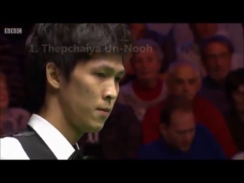 Top 4 Snooker 147 Fails - Missed Final Black