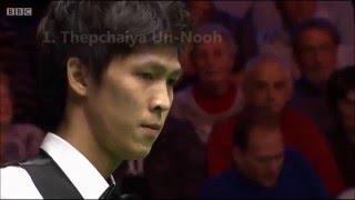 Snooker 147 - Top 4 Snooker 147 Fails - Missed Final Black