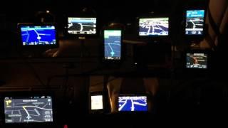 Gps Test Smartphone - Google maps vs. iGo vs. Here maps vs. Garmin vs. Balupunkt - TomTom Rider 2 Free HD Video