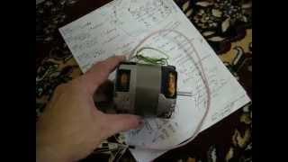 Motor chizilgan Фильм2 uchun rewinding