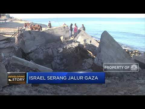 Lagi, Israel Serang Jalur Gaza