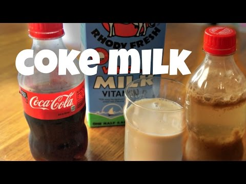 Katie Sommers - TREND: People Are Dumping Milk Into Their Soda