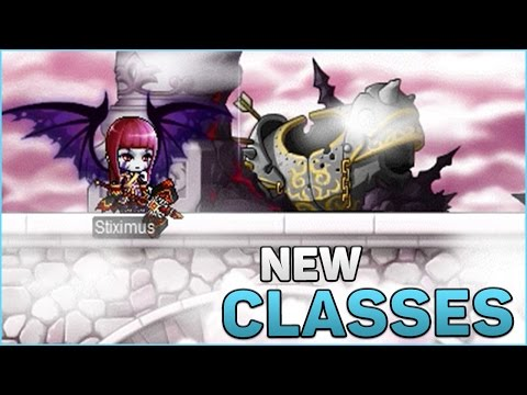 Maplestory Gameplay | Trying New Classes