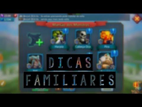FAMILIARES COMO FUNCIONAM? - LORDS MOBILE