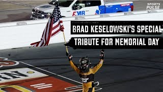 brad-keselowski-honors-soldier-memorial-day-nascar-race-sportspulse