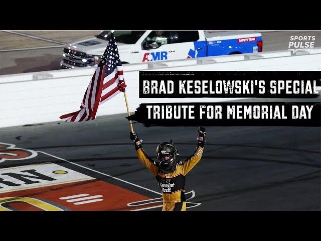 Brad Keselowski honors soldier in Memorial Day NASCAR race   SportsPulse