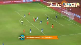 India vs China Football Match. Highlights Only. India 0-0 China.