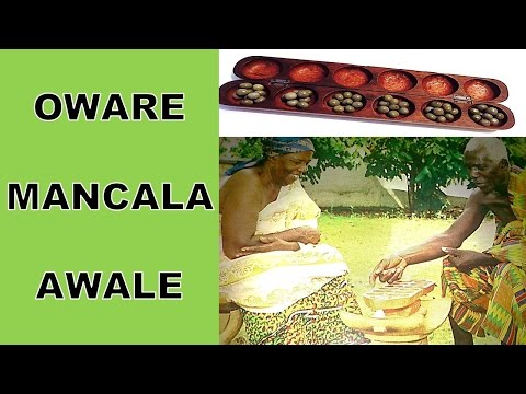 Oware - Mancala-  Awale (Board Game)