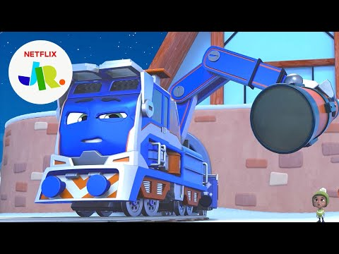 Milo's BIG Telescope Delivery 🔭 Mighty Express | Netflix Jr