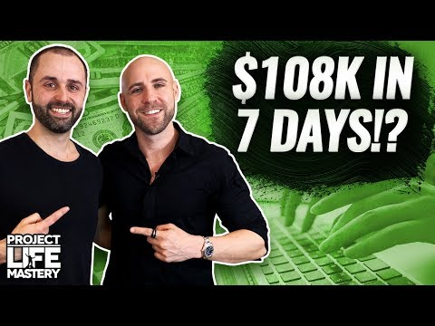 How Steve Raiken Made $108k With Affiliate Marketing In Less Than 7 Days! 🤑