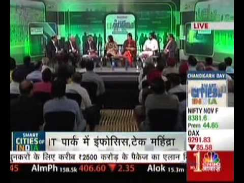 Omaxe Smart Cities of India - Chandigarh Panel Discussion