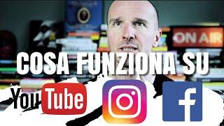 Cosa cerca la gente su YouTube, Instagram e Facebook