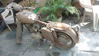 JAWA 250cc 1962 full restoration from scrap to gold. PART 1( for spare parts 9491220222)