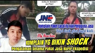 Full Video! Kardus Robek KURIR JNE di Di Maki2 Costumer/Pengguna Jasa (My Opinion)