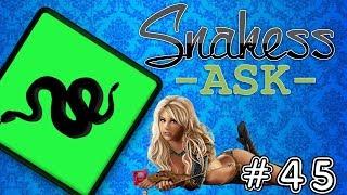 Snakess Ask   #45   Prvý sex