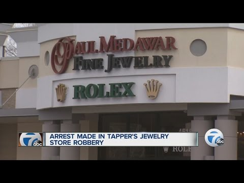 Arrest made in Tapper's Jewelry Store robbery