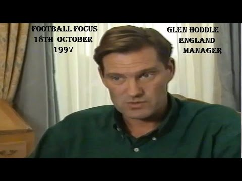 GLEN HODDLE - MANAGER OF ENGLAND 1997 - FOOTBALL FOCUS 18TH OCTOBER 1997