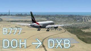 FSX Doha to Dubai | Full Flights | Series 6 Episode 4