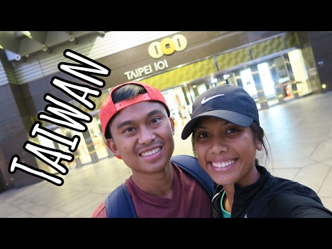 CHECKING OUT TAIPEI 101 DURING OUR 6-HOUR LAYOVER | Taiwan Travel Vlog