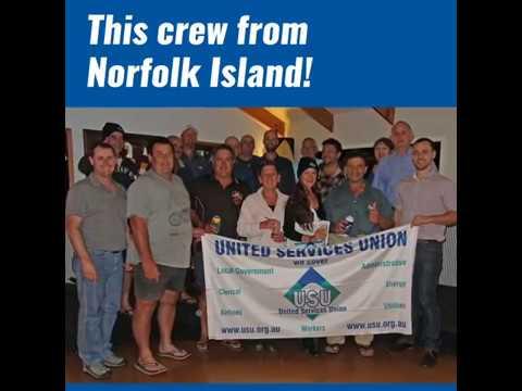 The USU welcomes our Norfolk Island members