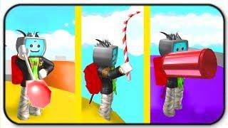 Alle neuen Süßigkeiten Werkzeuge Sucker Schaufel, Candy Pickaxe und Donut Blaster - Roblox Mining Simulator