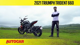 Triumph Trident 660 review - Trident tested | First Ride | Autocar India