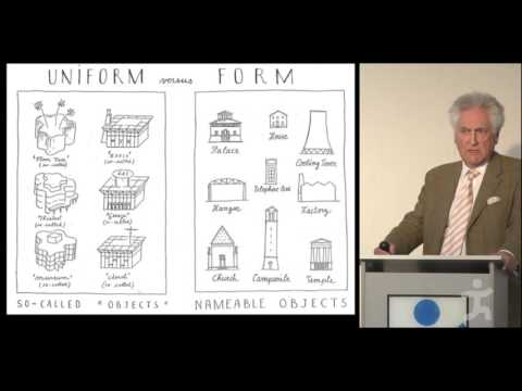 Léon Krier - The Architectural Tuning of Settlements