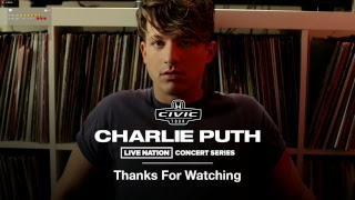 Charlie Puth Live Stream Minnesota International Re-Stream