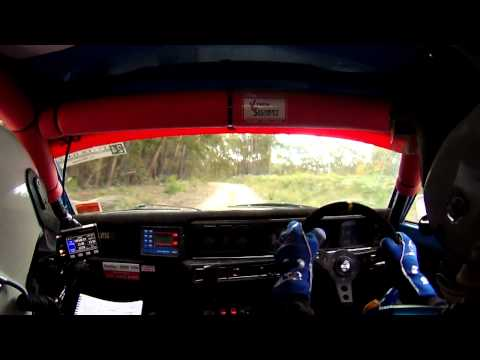 2013 Alpine Rally of East Gippsland: SS8 Whittenbury/Rudham