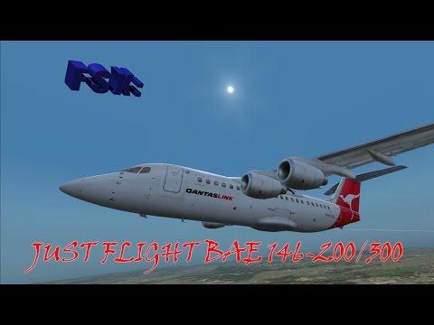 FSX Review - Just Flight BAe 146