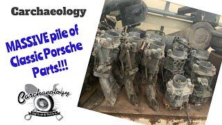 Carchaeology: Vintage Porsche Parts Stash