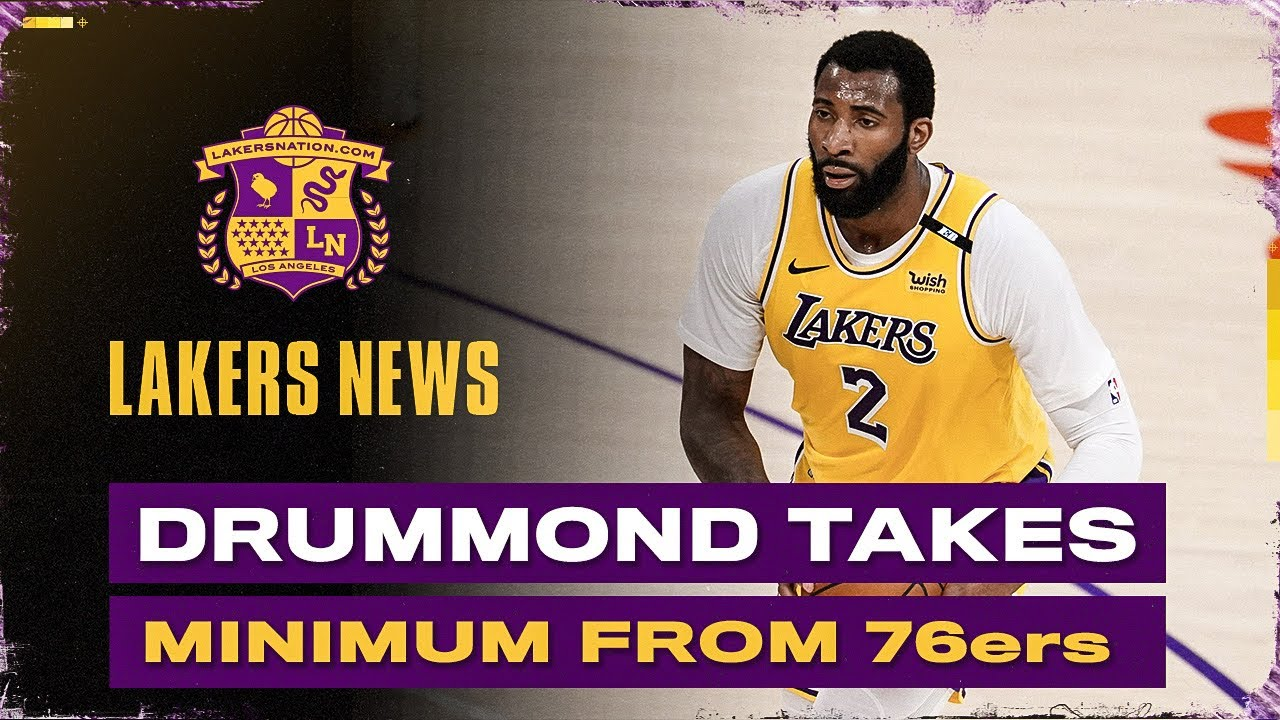 Andre Drummond Joins 76ers, Lakers Make Right Decision With Dwight Howard?