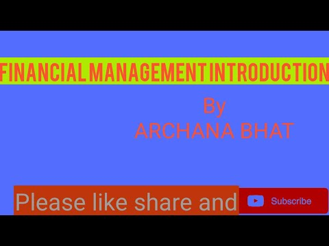 FINANCIAL MANAGEMENT MEANING/BUSINESS FINANCE/B.COM,BBA,M.COM