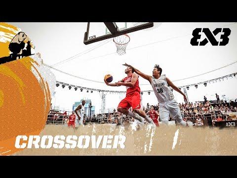 Otar Pertaia's crazy crossover - FIBA 3x3 U18 World Cup 2017
