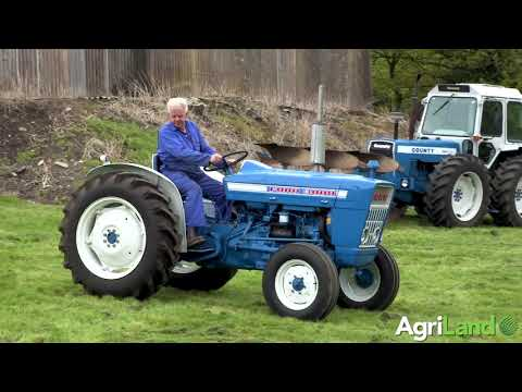 Paul Cable's stunning tractor collection...up for auction! (video by Tim Scrivener)