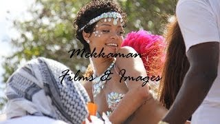 Rihanna Enjoying Barbados Carnival - Kadooment Day 2013