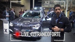 BMW X3, il SUV lussuoso il giusto? | Salone di Francoforte 2017
