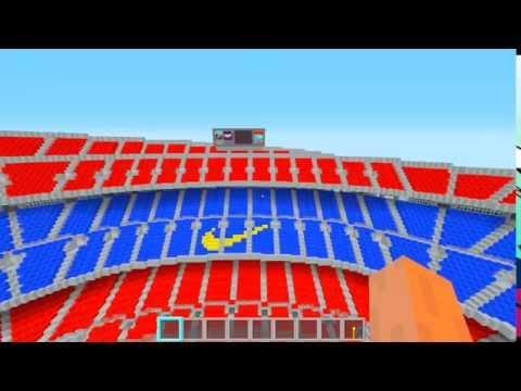 Minecraft: Download Camp Nou FC Barcelona 1.7.10 Para Cima