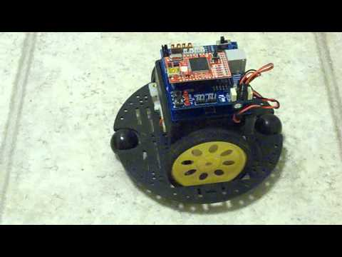 First Demo With The FEZ Robot Kit